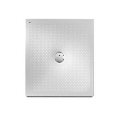 Roca In Floor Anti-Slip Square Shower Tray - 900mm x 900mm - White